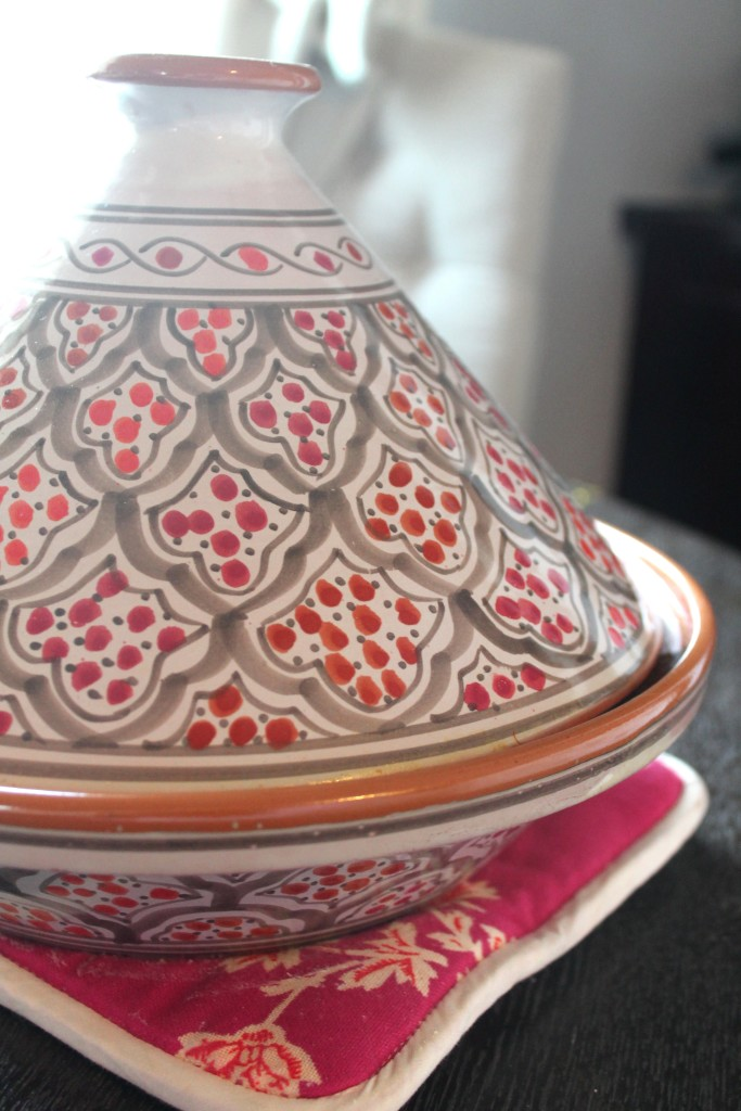 Look at that pretty tagine vessel!