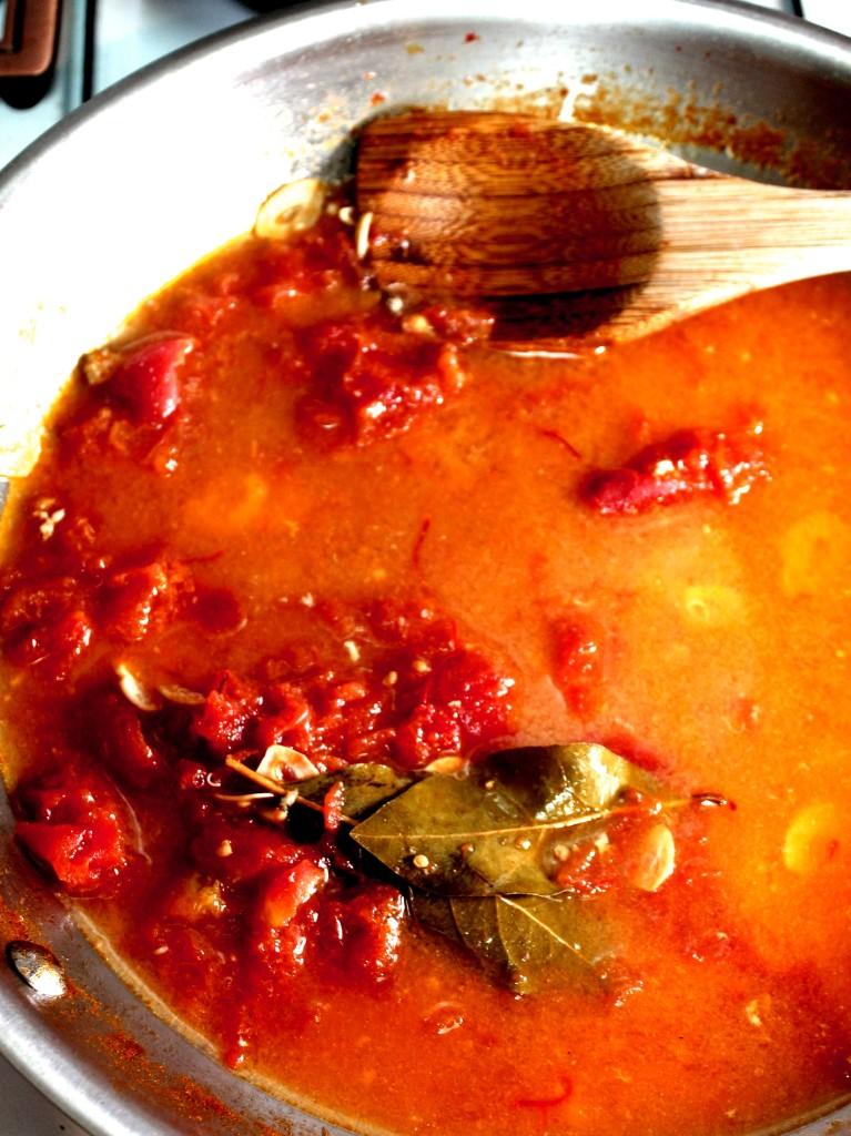 Tomato Saffron Broth
