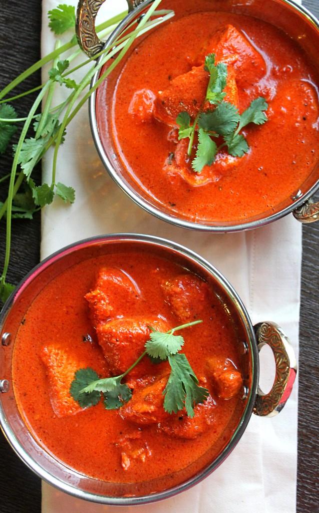 2 Bowls of Chicken Tikka Masala