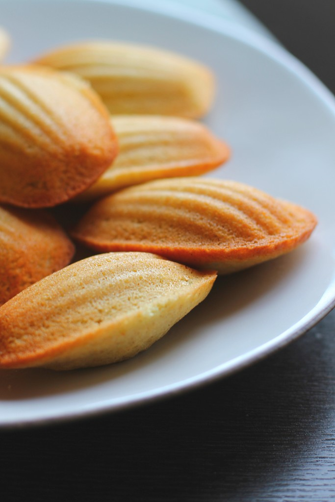 Madeleines with Cardamom