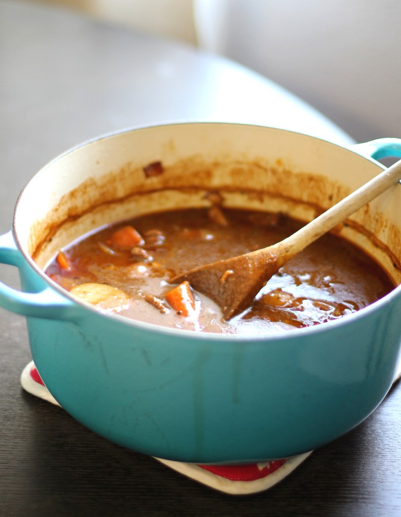 Pot of Guinness Beef Stew