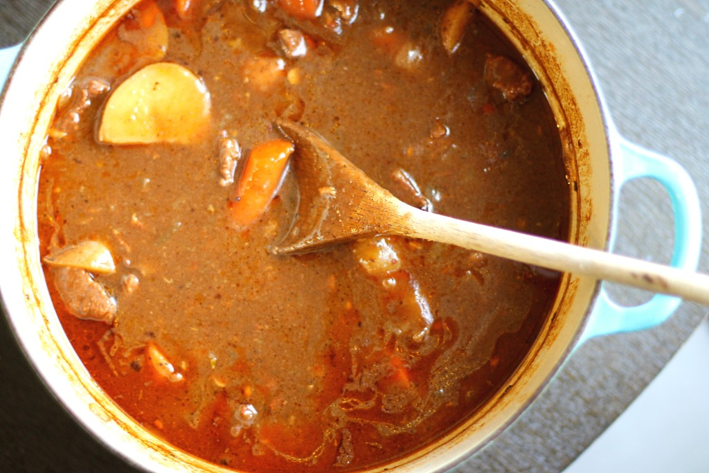 Pot of Guinness Stew