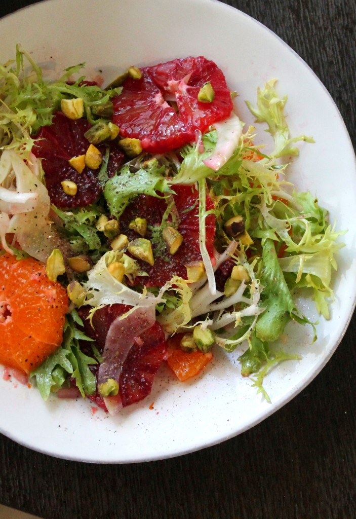 Blood Orange Salad with Pistachio and Fennel