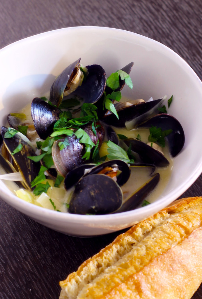 Bowl of Moules Marinieres