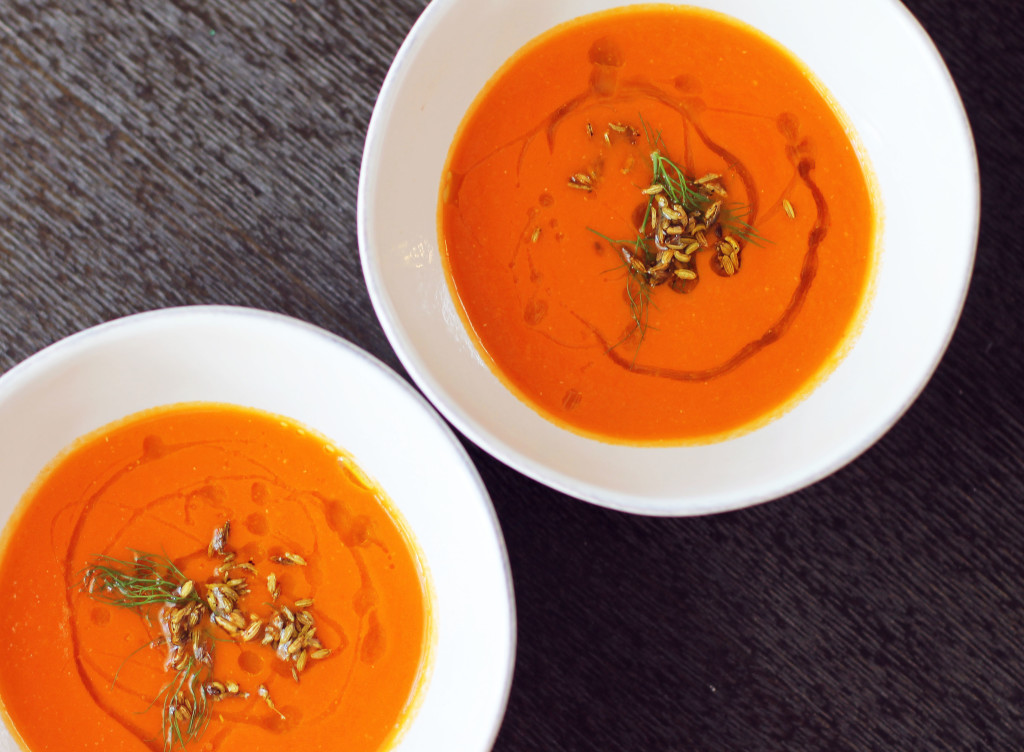 The PERFECT restaurant style tomato-fennel soup
