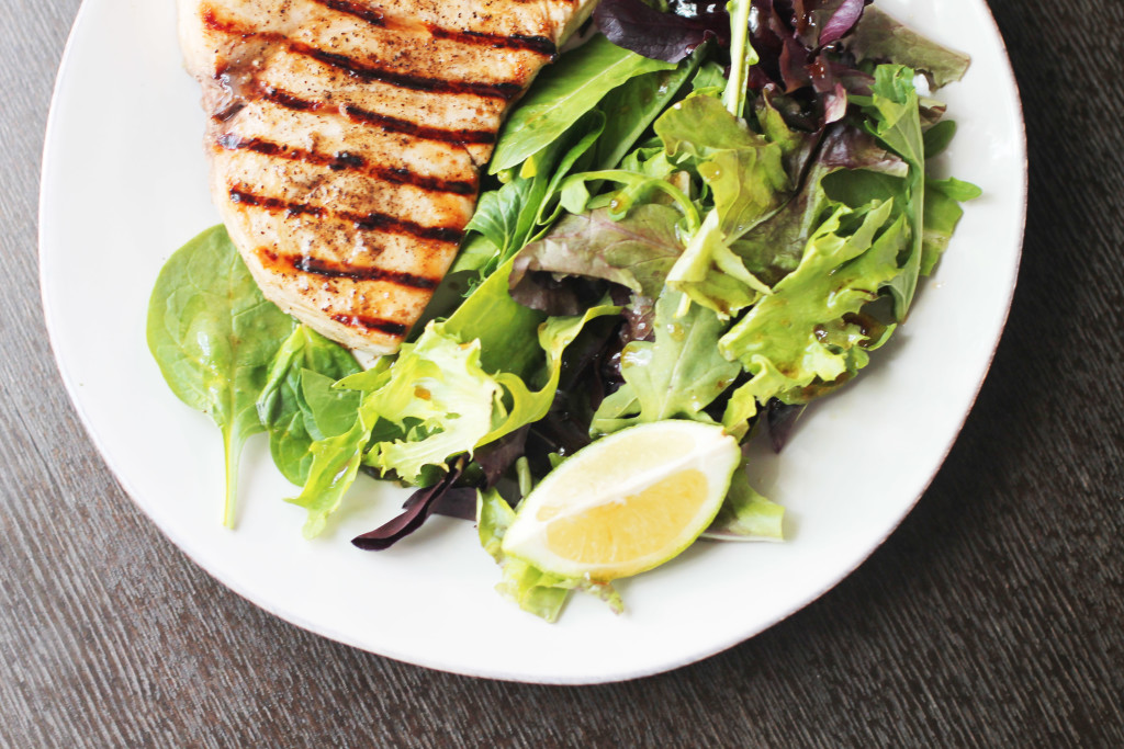 Use your grill pan for this perfectly seared ginger-lime marinated swordfish.