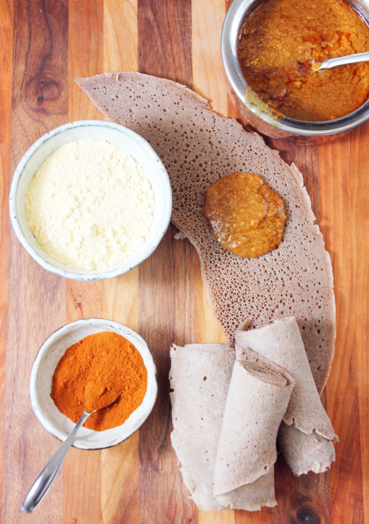 The most fabulous Ethiopian Shiro from scratch! So easy and SO flavorful. Vegan dish.