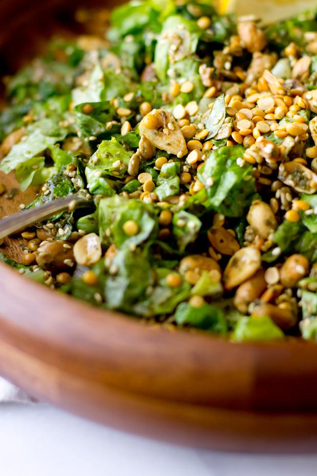 Burmese Tea Leaf Salad - THE GOURMET GOURMAND