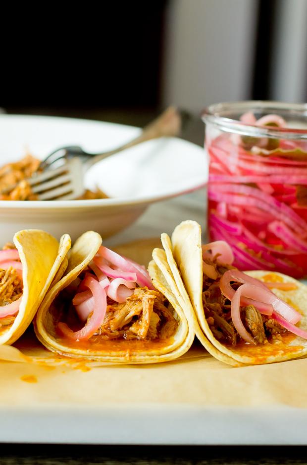 Cochinita Pibil Tacos - thegourmetgourmand.com