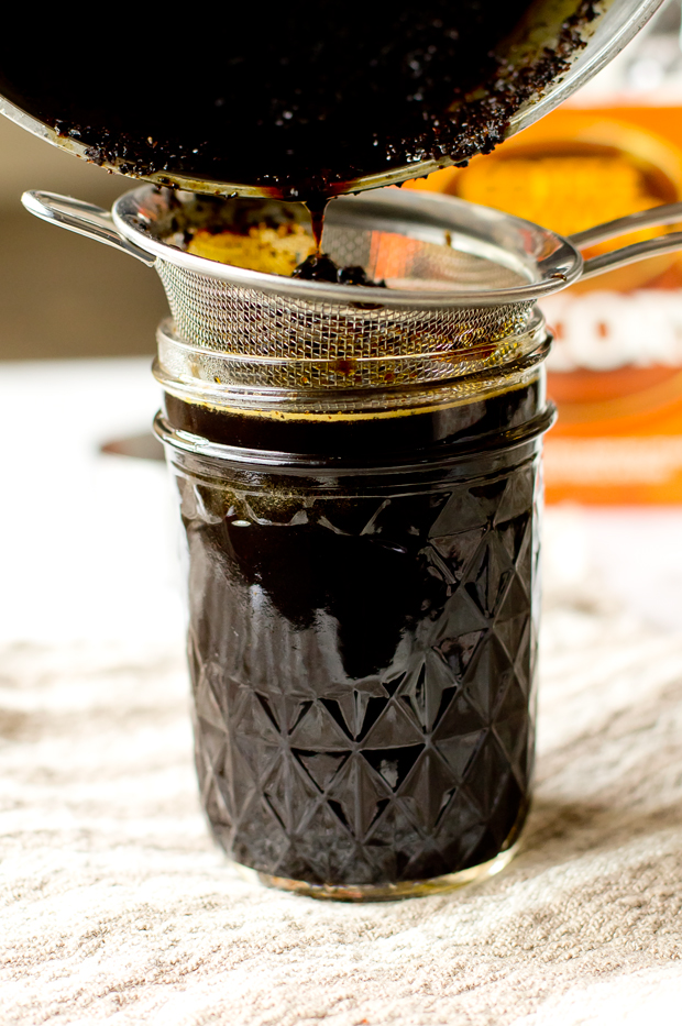Chicory Simple Syrup- thegourmetgourmand.com