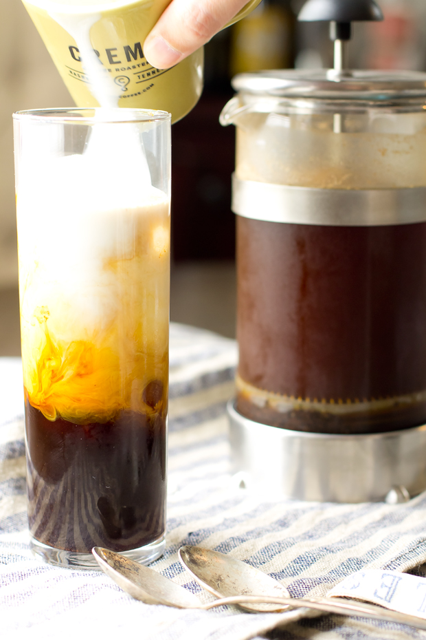 New Orleans Iced Coffee -thegourmetgourmand.com