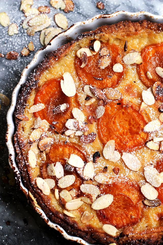 vanilla-apricot-tart