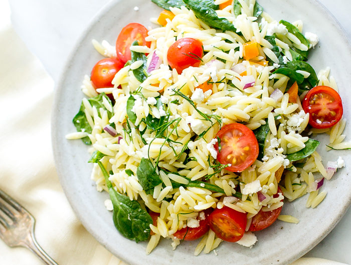 Pasta Salad with Lemon and Dill